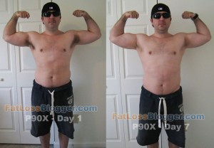 P90X Comparison Pictures Day 7-2