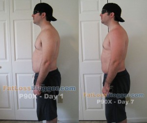 P90X Comparison Pictures Day 7-4