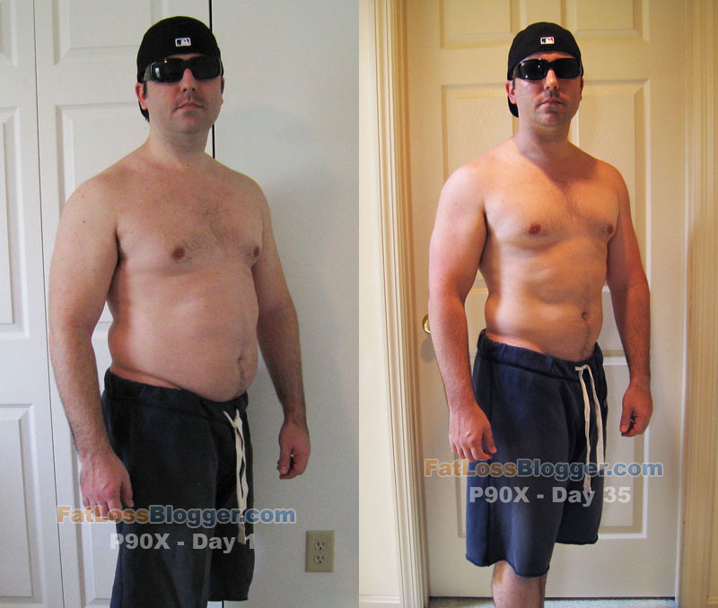 P90X Program Update – Day 35 Pictures and Progress