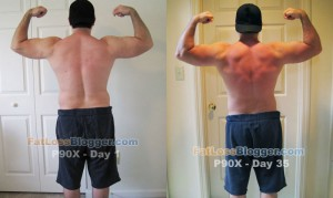 P90X Day 35 Comparison - Back Bicep