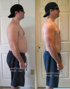 P90X Day 35 Comparison - Side Right