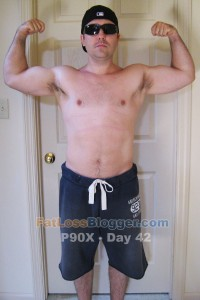 P90X Day 42 Front Bicep