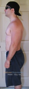 P90X Day 42 Side Left