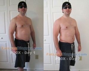P90X Comparison Pictures Day 7-3