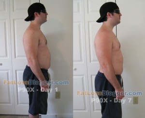 P90X Comparison Pictures Day 7-5