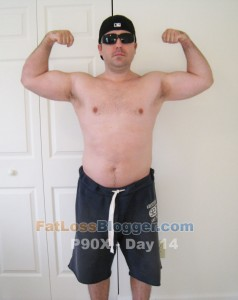 P90X Day 14 Front Bicep