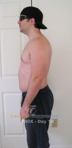 P90X Day 14 Side Left