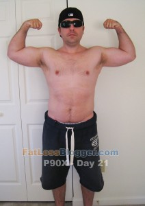 P90X Day 21 Front Bicep