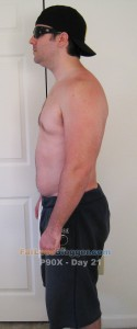 P90X Day 21 Side Left