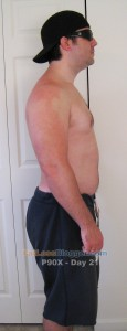 P90X Day 21 Side Right