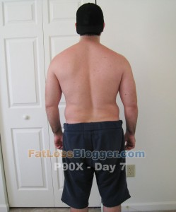 P90X Day 7 Back