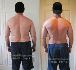 P90X Day 49 vs. Day 1 - Back