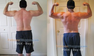 P90X Day 49 vs. Day 1 - Back Bicep