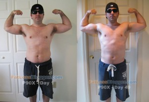 P90X Day 49 vs. Day 1 - Front Bicep