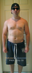 P90X Day 35 Front