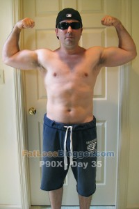 P90X Day 35 Front Bicep