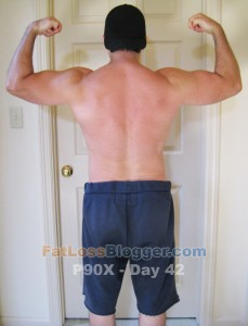P90X Day 42 Back Bicep