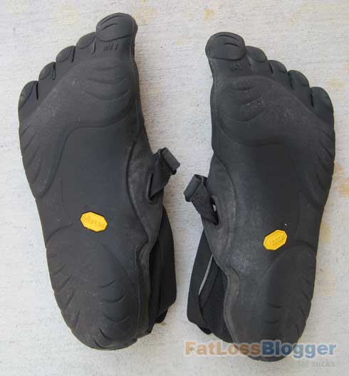 Vibrams Five Finger Bottom