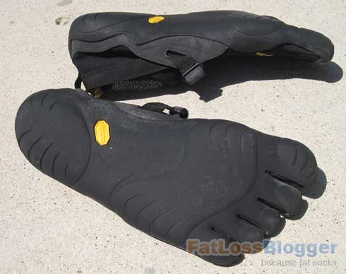 Vibrams FiveFinger Bottom